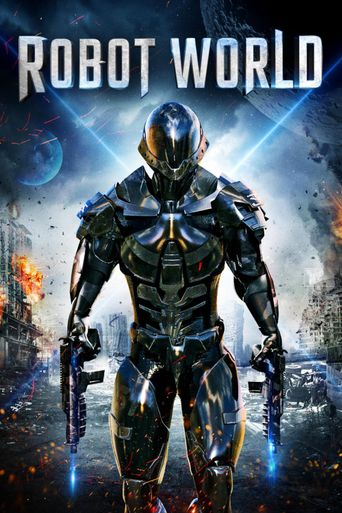 Robot World Poster