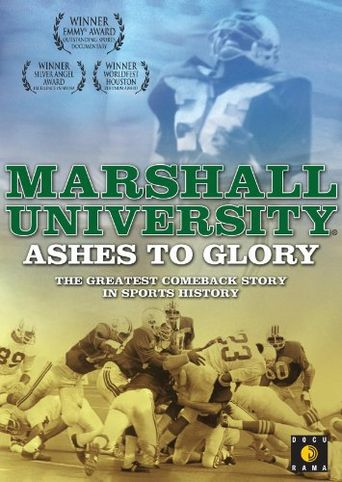 Marshall University: Ashes to Glory Poster