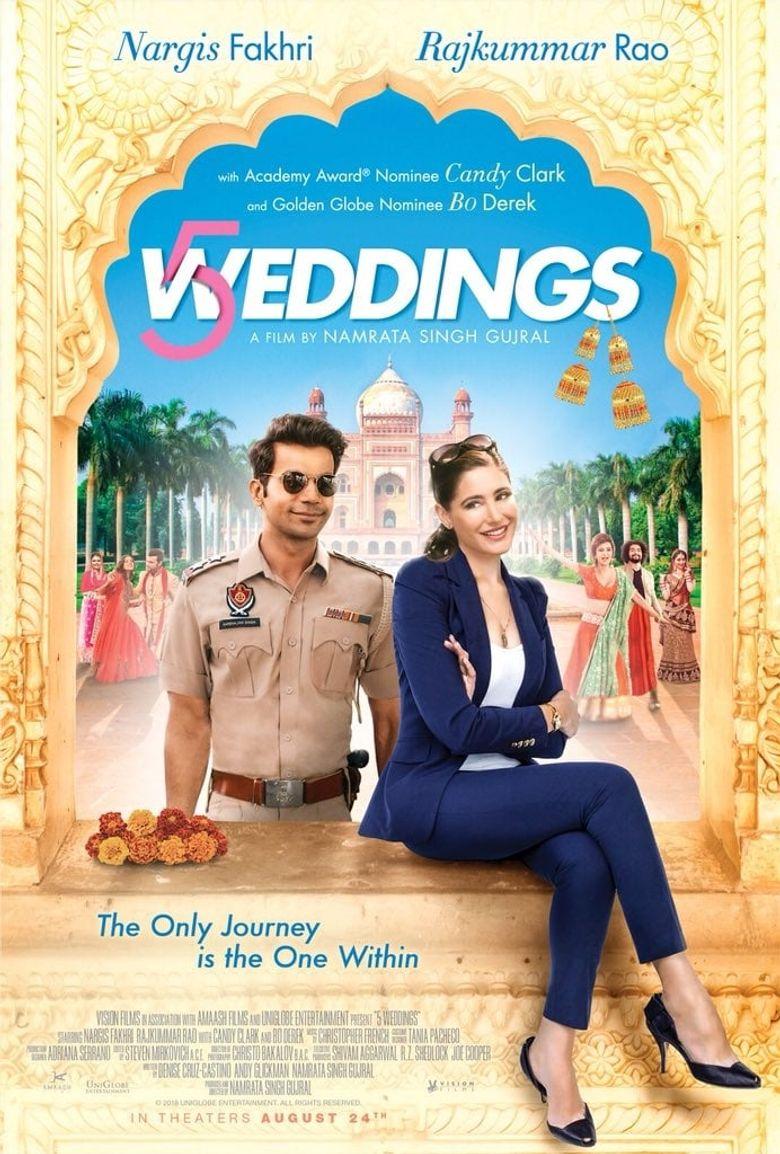 5 Weddings Poster