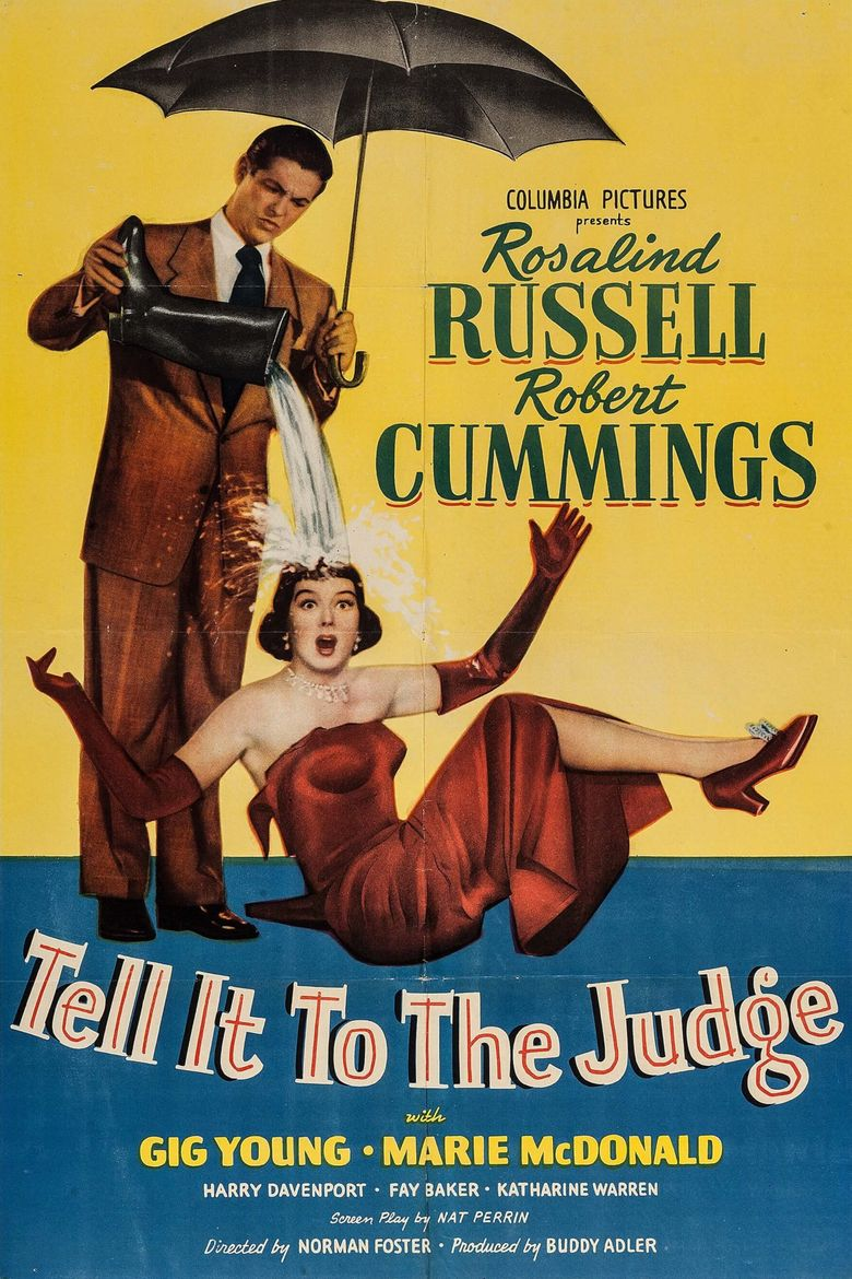 Tell It to the Judge Poster