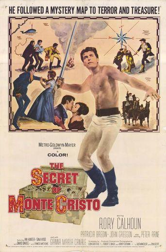 The Treasure of Monte Cristo Poster