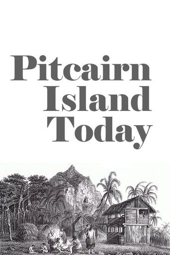 Pitcairn Island Today Poster