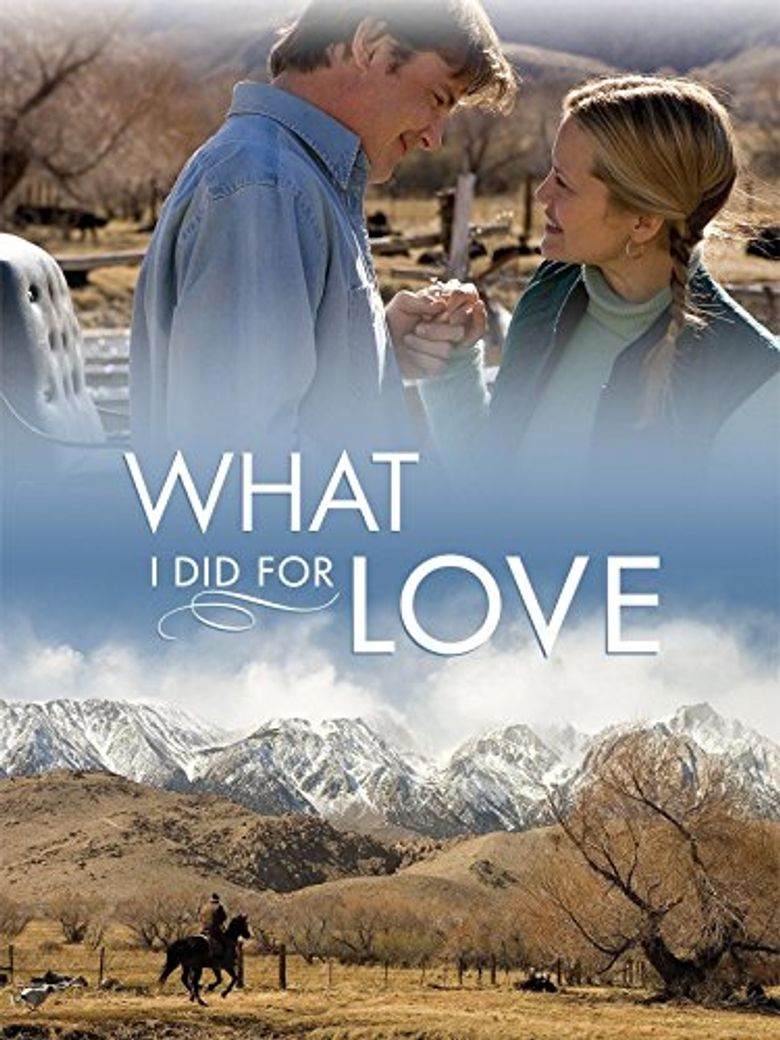 What I Did for Love Poster