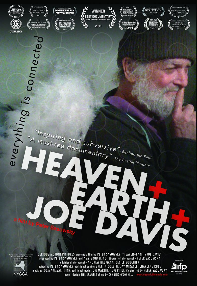 Heaven and Earth and Joe Davis Poster