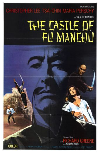 The Castle of Fu Manchu Poster