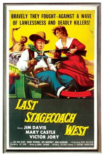 The Last Stagecoach West Poster