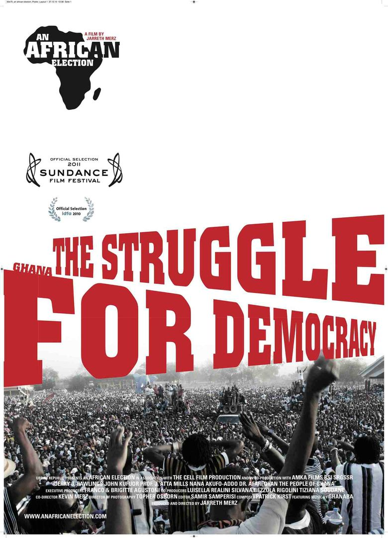 An African Election Poster
