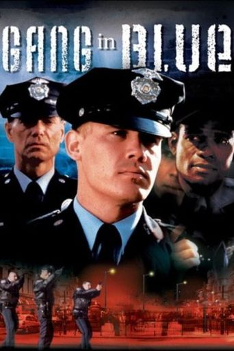 Gang in Blue Poster
