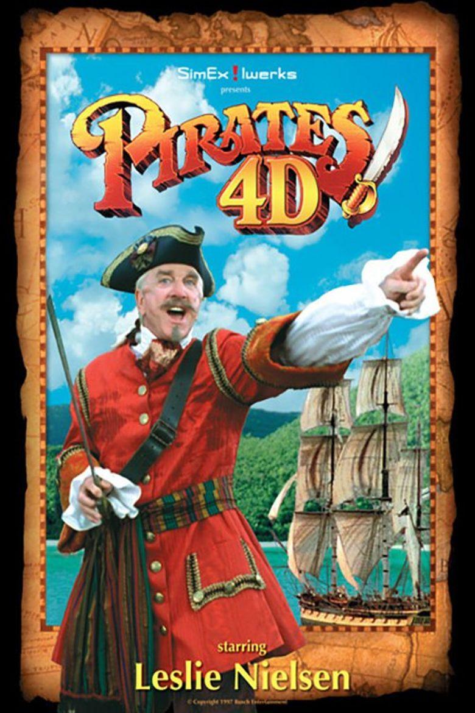 Pirates: 4-D Poster