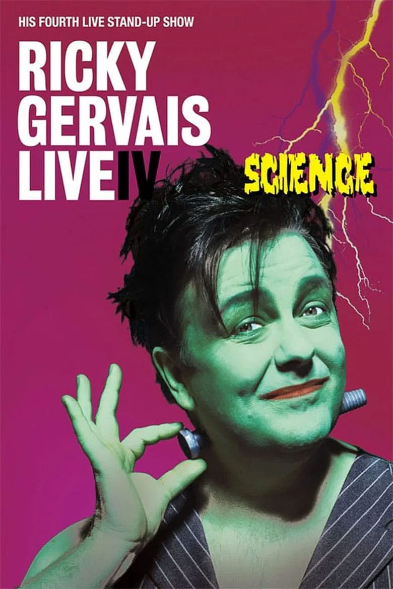 Ricky Gervais Live 4: Science Poster