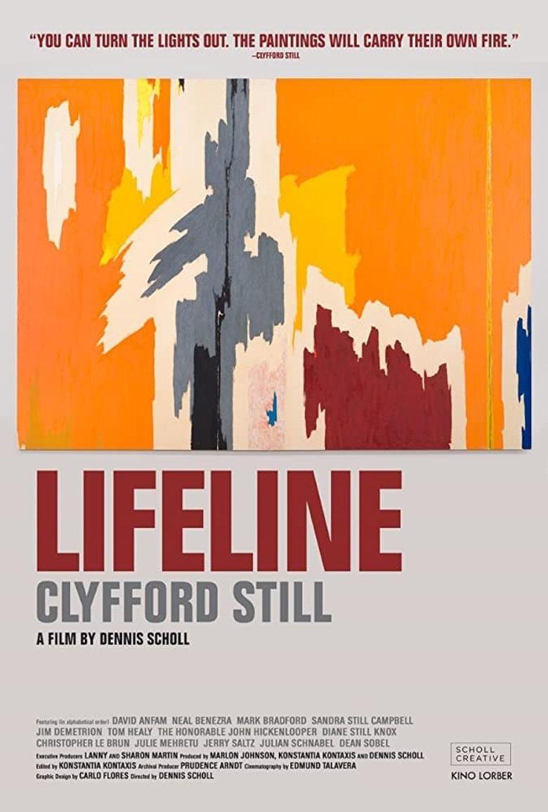 Lifeline: Clyfford Still Poster