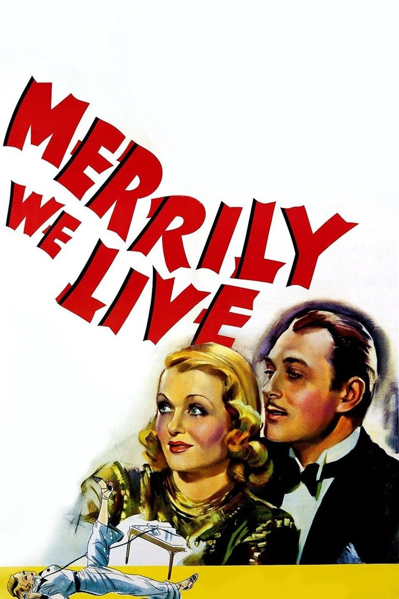 Merrily We Live Poster