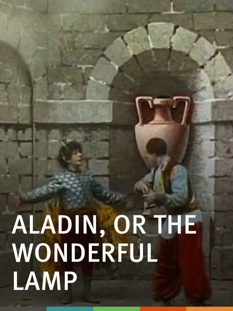 Aladdin and His Wonder Lamp Poster