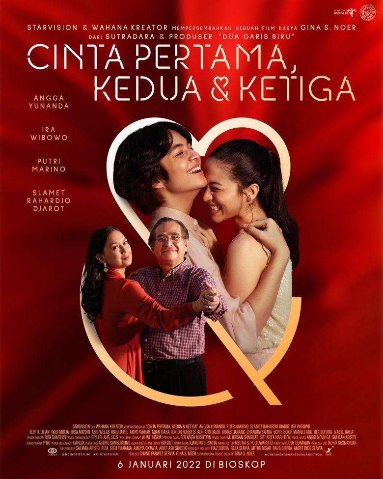 Cinta Pertama, Kedua & Ketiga Poster