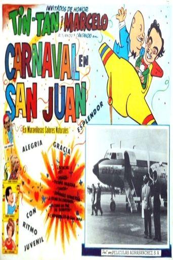 Puerto Rico en carnaval Poster