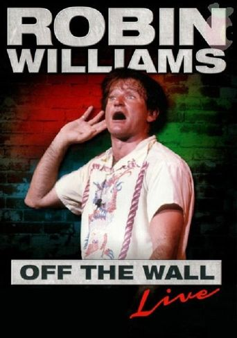 Robin Williams - Off the Wall Poster