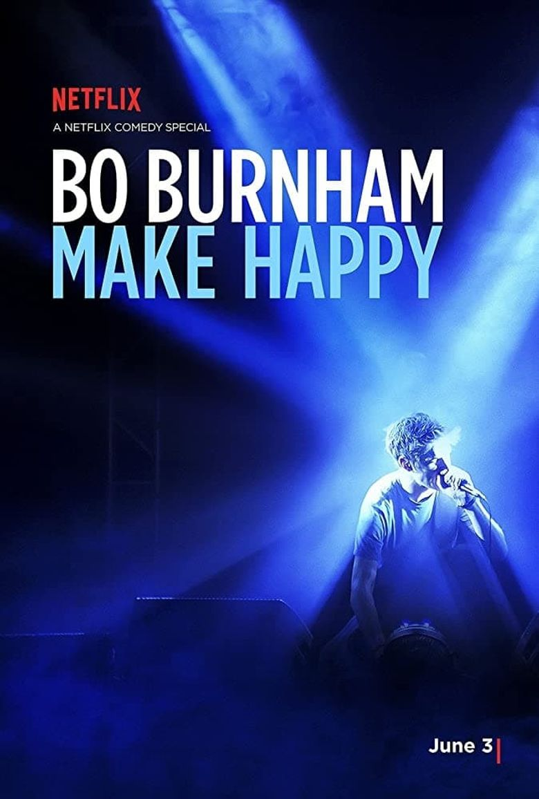 Bo Burnham: Make Happy Poster