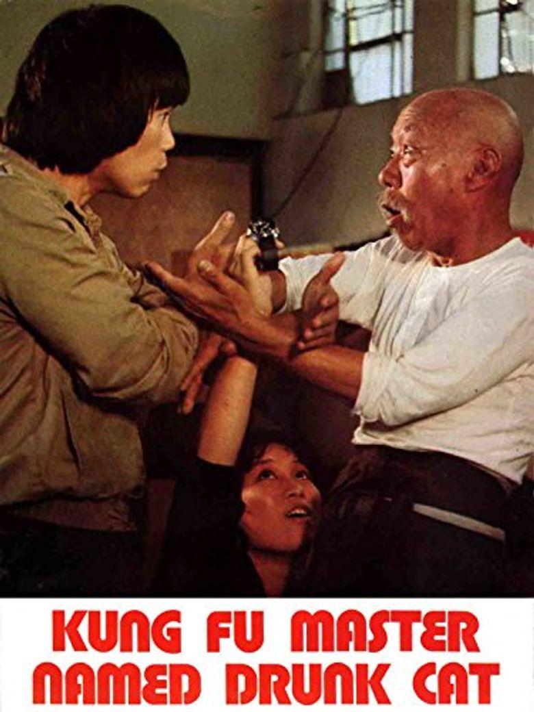 Kung Fu Master Named Drunk Cat Poster