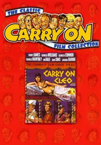 Carry On Cleo Poster