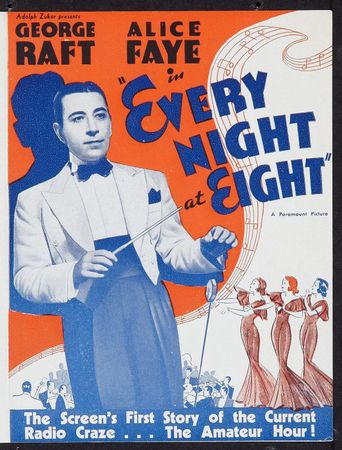 Every Night at Eight Poster
