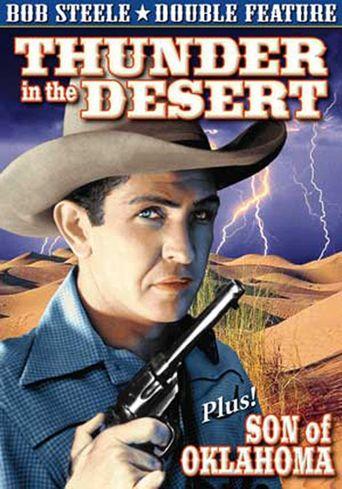 Thunder in the Desert Poster