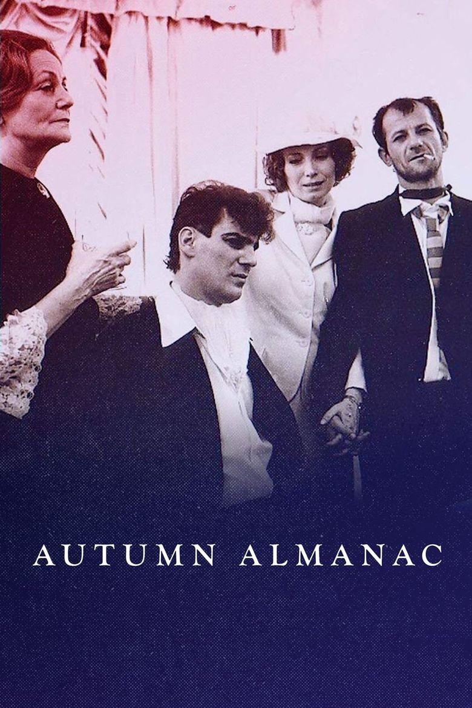 Autumn Almanac Poster