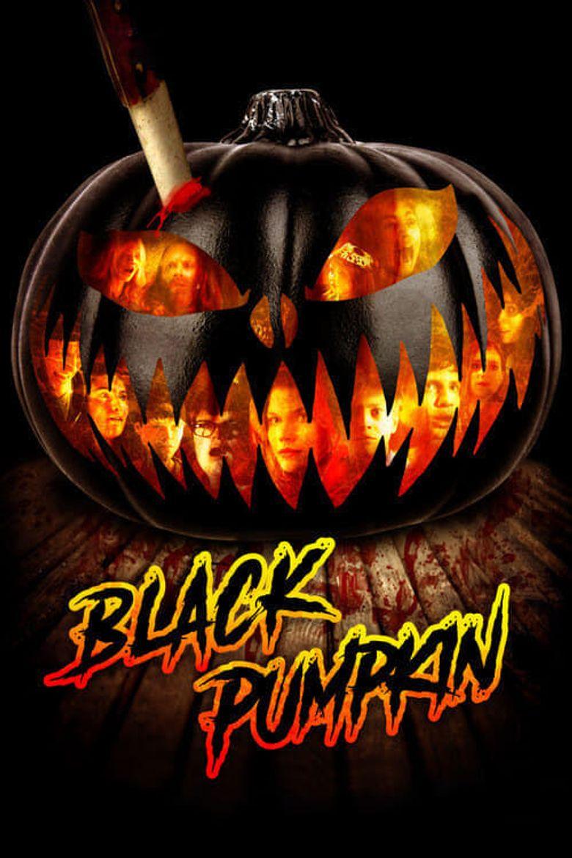 Black Pumpkin Poster