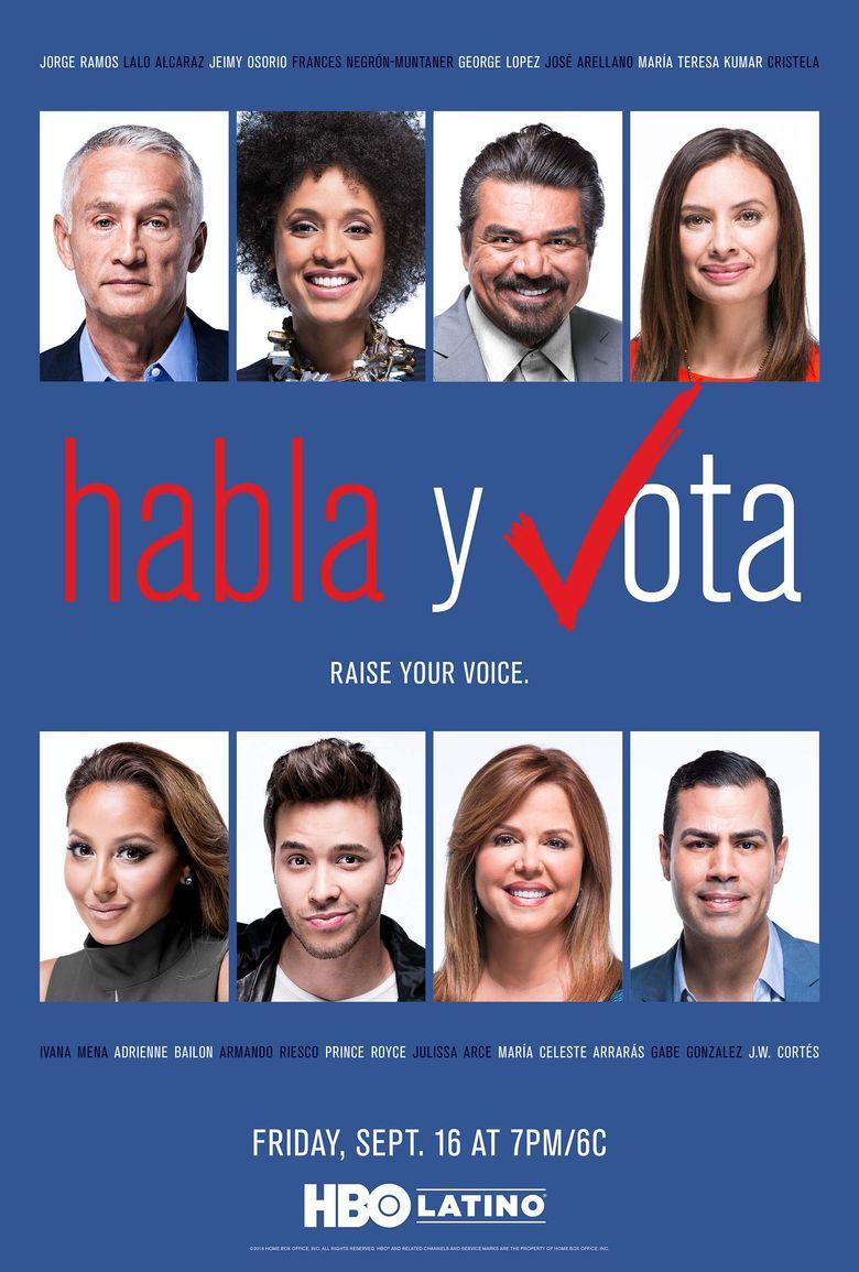Habla y vota Poster