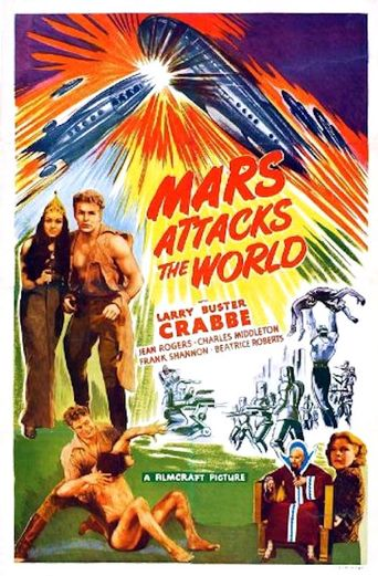 Mars Attacks the World Poster
