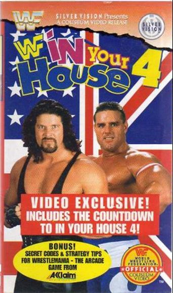WWE In Your House 4: Great White North Poster