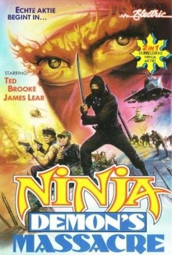 Ninja Demon's Massacre Poster