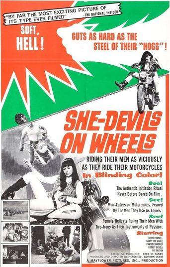 She-Devils on Wheels Poster