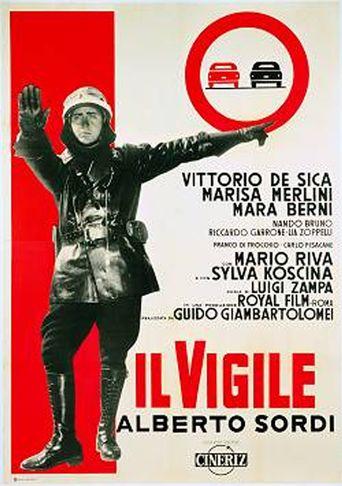 Il vigile Poster