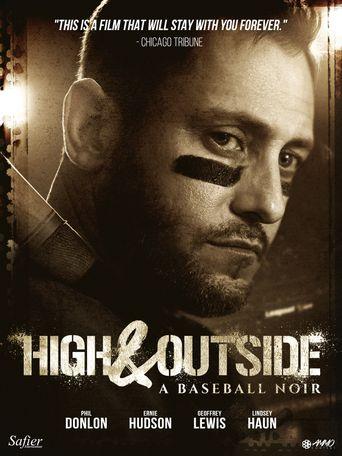 High & Outside: A Baseball Noir Poster