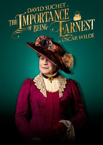 The Importance of Being Earnest on Stage Poster