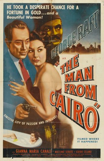 The Man From Cairo Poster