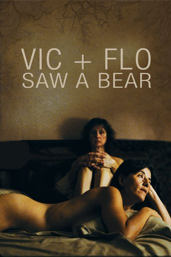 Vic+Flo Saw a Bear Poster