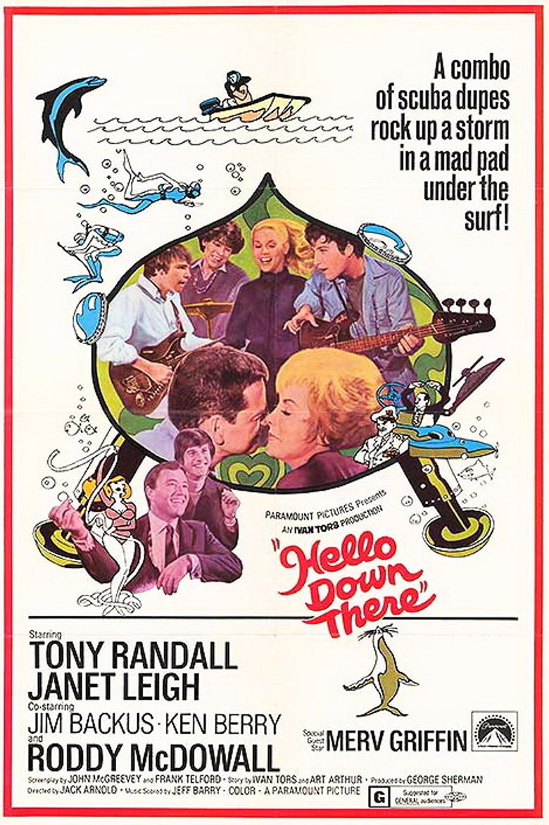 Hello Down There Poster