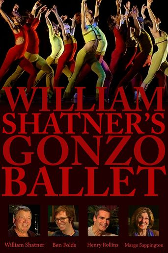 Watch William Shatner's Gonzo Ballet
