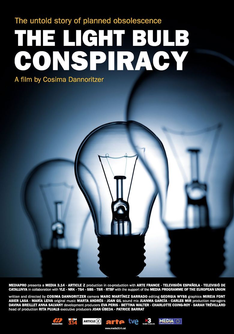 The Light Bulb Conspiracy Poster