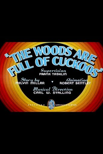 The Woods Are Full of Cuckoos Poster