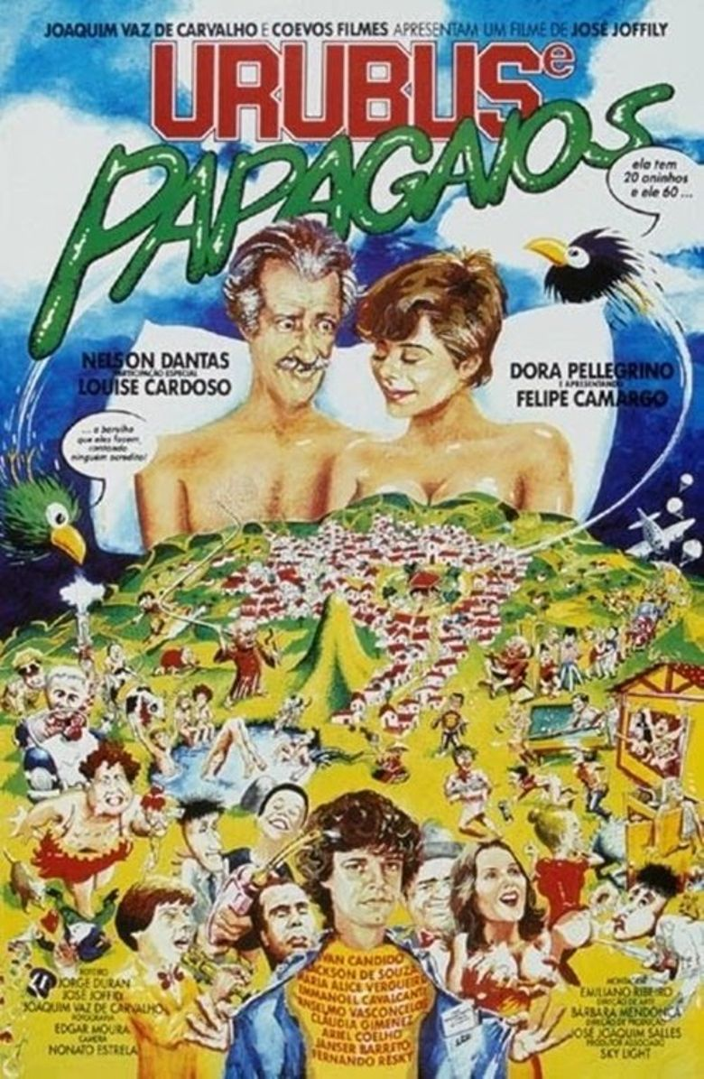Urubus e Papagaios Poster
