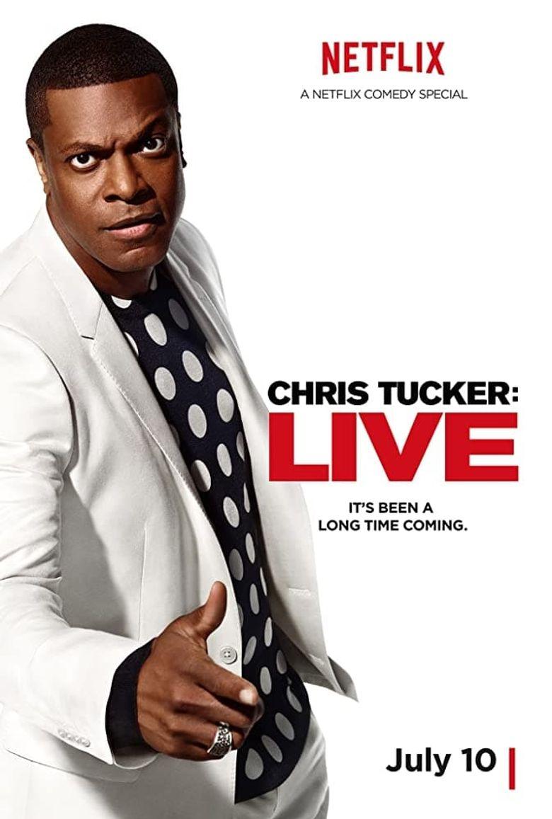 Chris Tucker Live Poster