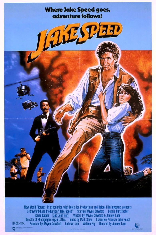 Jake Speed Poster