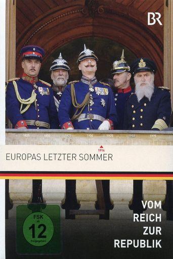 Europas letzter Sommer Poster