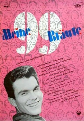 Meine 99 Bräute Poster