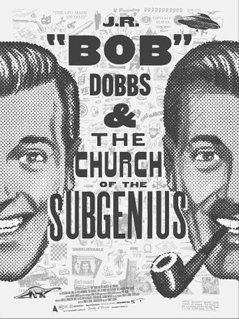 """J.R. """"Bob"""" Dobbs and The Church of the SubGenius Poster"""