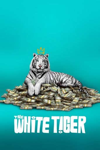 The White Tiger Poster