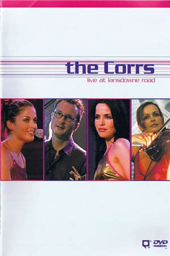 The Corrs Live at Lansdowne Road Poster