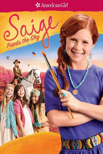 An American Girl: Saige Paints the Sky Poster